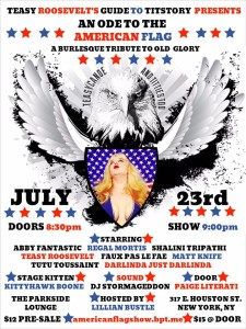 Teasy Roosevelt's Guide to Titstory: An Ode to the American Flag @ The Parkside Lounge  | New York | New York | United States