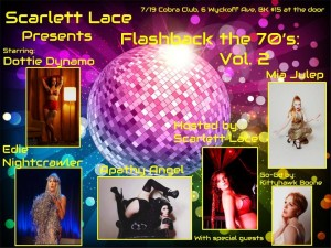 Flashback the 70's: Vol 2 @ The Cobra Club  | New York | United States