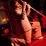 Donny Vomit performs at Bushwick Burlesque.
