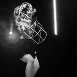 Agatha Frisky performing at the Toronto Burlesque Festival Teaser show, Bombshell