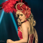 Agatha Frisky performing at the Toronto Burlesque Festival 2015 Glam-a-ganza show.