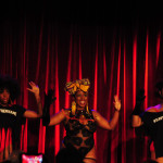 Akynos performing at the 2016 New York Burlesque Festival Thursday night show at The Bell House.