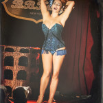 Albadoro Gala performing at the 2014 New York Burlesque Festival