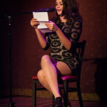 Penthouse Pet January 2014 Allie Haze reading from Penthouse Forum at Bedroom Burlesque: A Penthouse Forum Release Party With The New York School of Burlesque