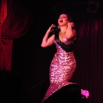 Angie Pontani performing at the New York Burlesque Festival 2016 Saturday night Extravaganza at BB Kings.