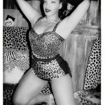 Ashleeta Beauchamp at the Golden Tiki on the 2016 Burlesque Hall of Fame pinup photo safari in Las Vegas.