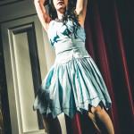 Aviva performing at Jinkies! A Hanna Barbera Burlesque Tribute, Toronto.