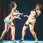Aviva, Dolly Berlin performing at Jinkies! A Hanna Barbera Burlesque Tribute, Toronto.