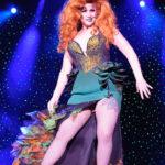 Miss Alyssa Kitt performing at Burlesque Hall of Fame 2017 Miss Exotic World Saturday night Tournament of Tease in Las Vegas.