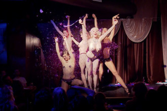 "Still from the documentary ""BURLESQUE: HEART OF THE GLITTER TRIBE"" an XLrator Media release. Photo courtesy of XLrator Media."