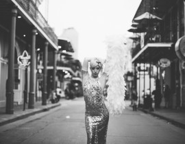 Bella Blue, from New Orleans Snakeoil Festival interview with producers