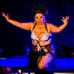 Bella La Blanc performing at Vermont Burlesque Festival 2016 Saturday Night Extravaganza.
