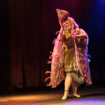 Bettie Blackheart performing at the 2014 New York Burlesque Festival Golden Pastie awards burlesque show