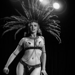 Bettina May performing at the 2014 New York Burlesque Festival