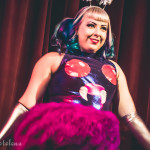 Betty Quirk performing at Peepshow Go: A Pokemon Burlesque Tribute, The Great Hall, Toronto.