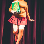 Betty Quirk performing at Jinkies! A Hanna Barbera Burlesque Tribute, Toronto.