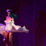 Bettysioux Tailor performing at the 2015 Great Burlesque Exposition 9, The Main Event.