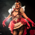 Bianca Boom Boom performing at the Toronto burlesque show Girlesque 2015, the Saturday early show.