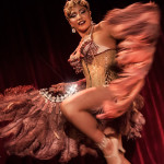 Bianca Dagga performing at the 2014 New York Burlesque Festival