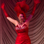 Blaze performing at the 2015 Great Burlesque Exposition day 1 show, The Rhinestone Revue
