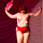 Boobs Radley performing at the 2015 Great Burlesque Exposition 9, The Main Event.