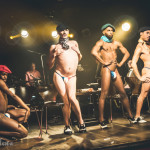 Boylesque TO performing at Skin Tight Outta Sight Rebel Burlesque's 2017 Voulez-Vous Valentine show at Revival bar in Toronto.