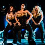 Brazen Belles performing at Vermont Burlesque Festival 2016 Saturday Night Extravaganza.