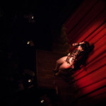 Bunny Buxom performing at Bedroom Burlesque: A Penthouse Forum Release Party With The New York School of Burlesque