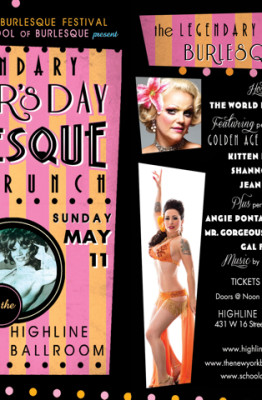 Burlesque Legends Mother's Day Show