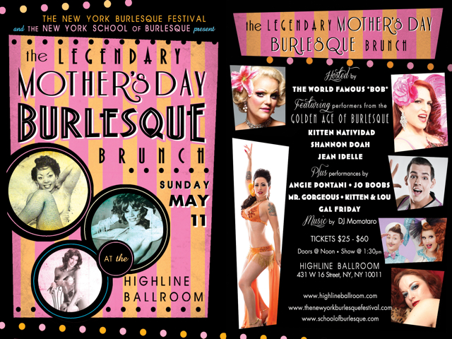 Burlesque Legends Mother's Day Show
