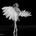 Camille 2000 performing at the 2015 Burlesque Hall of Fame Titans of Tease Reunion Showcase.