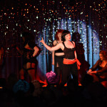 Cell Block Tango performing at Burlesque on Broadway at Lannie's Clocktower Cabaret in Denver, Colorado.