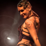 Chaos Divine performing at the Toronto burlesque show Girlesque 2015, the Saturday early show.