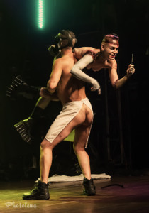 Chaos Divine performing at the 2014 Toronto Burlesque Festival Day 2