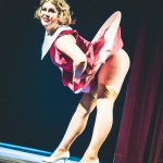 Charlie Quinn performing at Jinkies! A Hanna Barbera Burlesque Tribute, Toronto.
