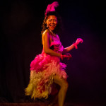 Chow Mein performing at The 3rd Annual Asian Burlesque Spectacular at Drom NYC.