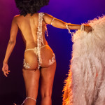 Coco Framboise performing at the 2014 Toronto Burlesque Festival