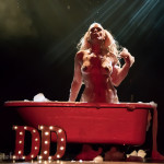 DD Starr performing at the 2016 Toronto Burlesque Festival Saturday night early show, the Glam-A-Ganza, at the Virgin Mobile Mod Club.
