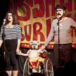 Darlinda Just Darlinda, Velvet Crayon and Scary Ben at Bushwick Burlesque 4 year anniversary show at Bizarre Bushwick