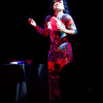 Dame Cuchifrita performing at The 3rd Annual Asian Burlesque Spectacular at Drom NYC.