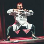 Dante Legend performing at Jinkies! A Hanna Barbera Burlesque Tribute, Toronto.