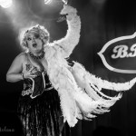 Dirty Martini performing at the 2015 New York Burlesque Festival Saturday Night Spectacular at B.B. King Blues Club.