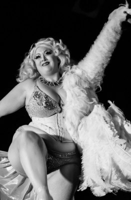Dirty Martini performing at the 2015 New York Burlesque Festival Saturday Spectacular