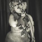 Dirty Martini performing at the Toronto Burlesque Festival Teaser show, Bombshell