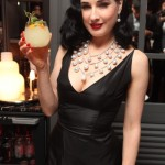 Dita Von Teese sips cocktails at Be Cointreauversial party in Bangkok