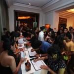 Guests at Be Cointreauversial party in Bangkok, Thailand