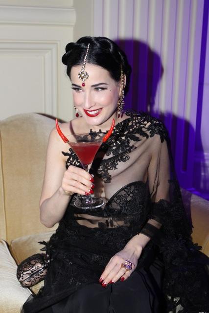 Dita Von Teese CointreauVersial Party Hits Thailand and India Dita Von Teese