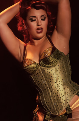 Dolly Berlin performing at the 2014 Toronto Burlesque Festival Day 3
