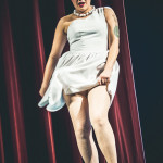 Dolly Monroe performing at Jinkies! A Hanna Barbera Burlesque Tribute, Toronto.