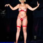 Doña Dragona performing at Vermont Burlesque Festival 2016 Saturday Night Extravaganza.